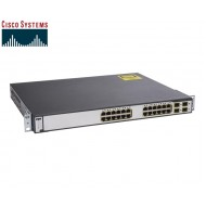 SWITCH ETH 24P 1GBE RJ45 & 4xSFP CISCO WS-C3750G-24TS-S1U