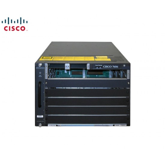 CISCO7600 SERIES 6-SLOT CHASSIS WITH FAN MODULE & 2PSU