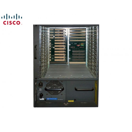 CISCO7600 SERIES 13-SLOT CHASSIS WITH FAN MODULE & 2PSU DC