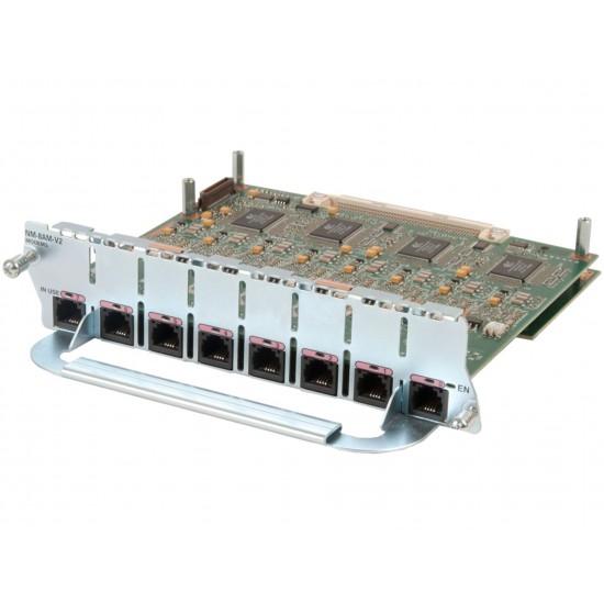 CISCO MODULE NM-8AM-V2 8 - PORT ANALOG MODEM
