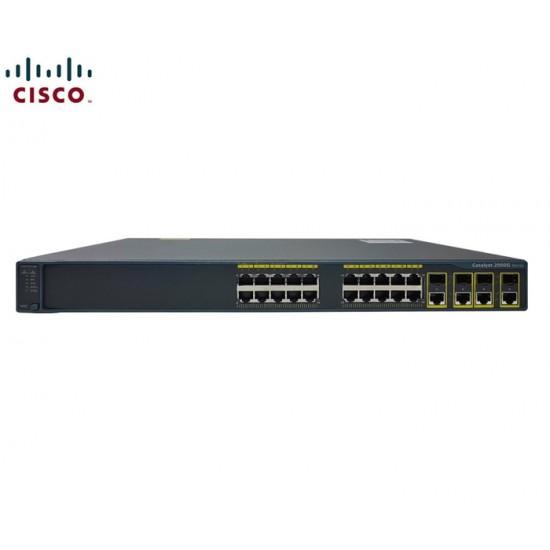 SWITCH ETH 24P 1GB CISCO C2960G 4X COMBO SFP/GBE