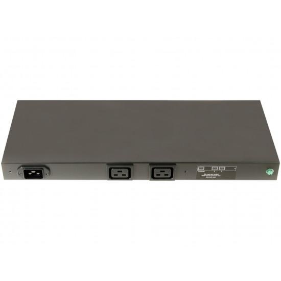 PDU 2-OUTLETS HP 228481-006, 2XC19, 200-240V, 1PH, 16A, 1U