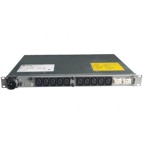 PDU 10-OUTLETS IBM 24R1840, 10XC13, 220-240V, 1PH, 25A, 1U