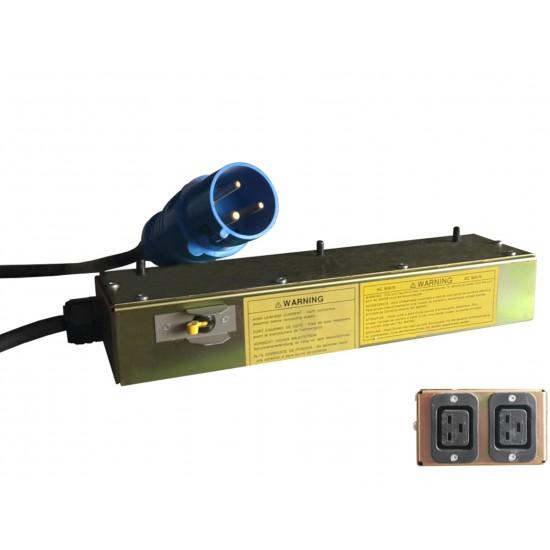 PDU ABL17 20A TO 2P-C19 20A SPLITER