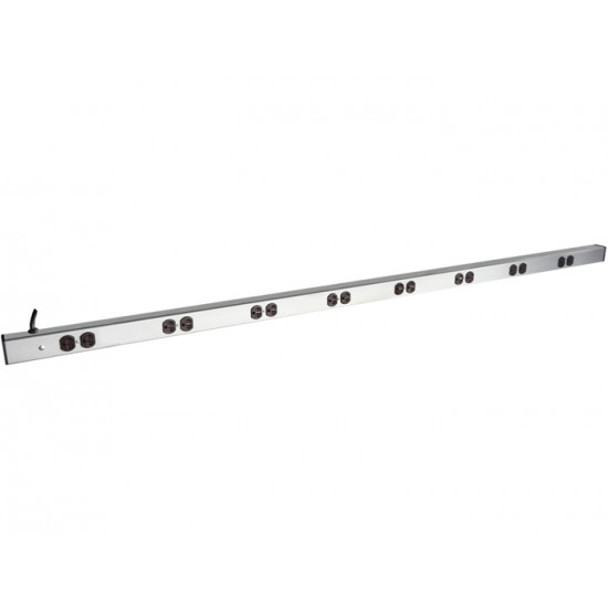PDU 16-OUTLETS-UK 15A, 250VAC-60HZ VERTICAL SWITCHED