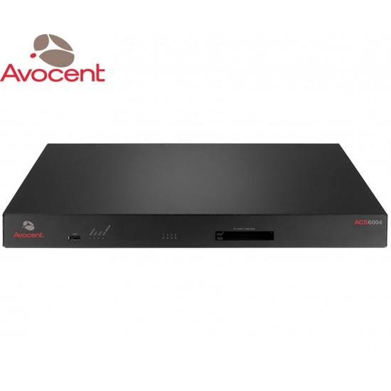 KVM AVOCENT ACS 6004 4-Port Console Server W/MODEM/SINGLE AC