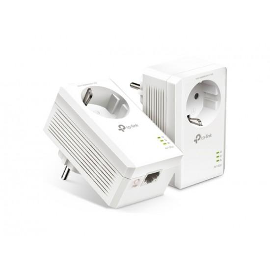 TP-LINK AV1000 PASSTHROUGH STARTER KIT V4 TL-PA7017P NEW