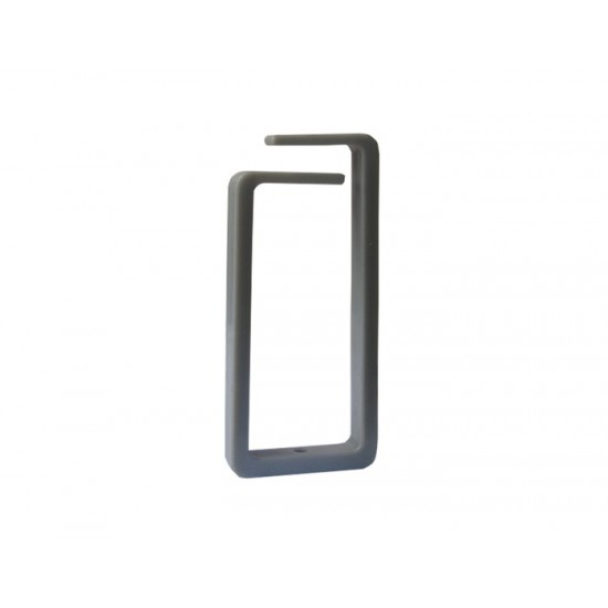 CABLE MANAGER ΝΟΝΑΜΕ 1U 1 HOOK GRAY PLASTIC
