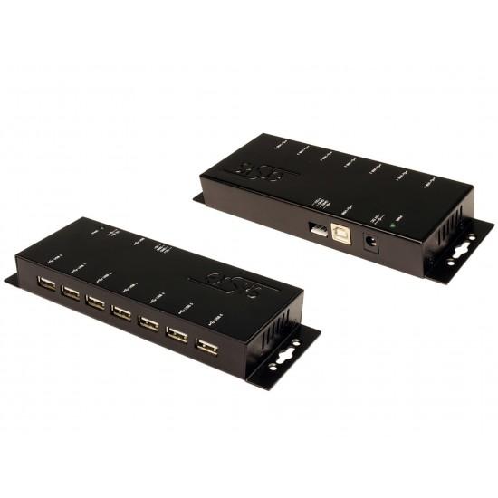 USB HUB 7 PORT USB 2.0 EXSYS - EX-1178 NEW