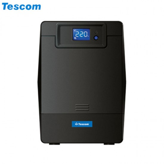 UPS 1500VA TESCOM LEO 1500AP LCD LiNE iNT TOWER BLACK NEW