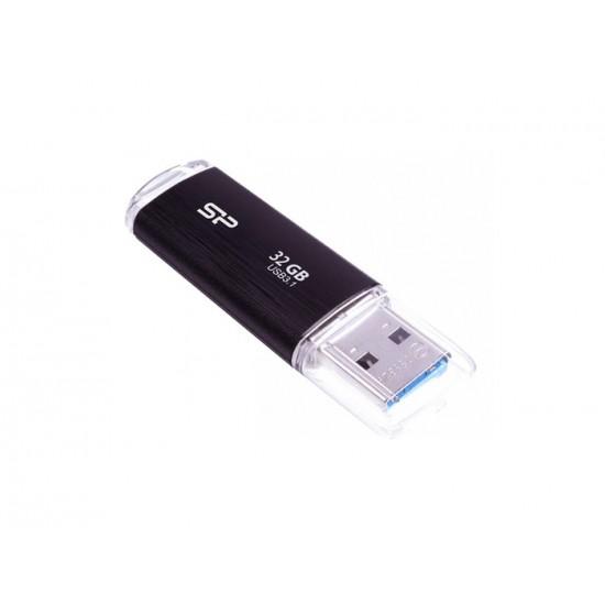 USB FLASH DRIVE SP BLAZE B02 32GB USB 3.2 BLACK NEW