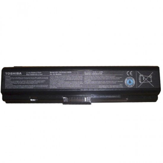 TOSHIBA SATELLITE A200 A300 A350 BATTERY 6CELLS - PA3534U
