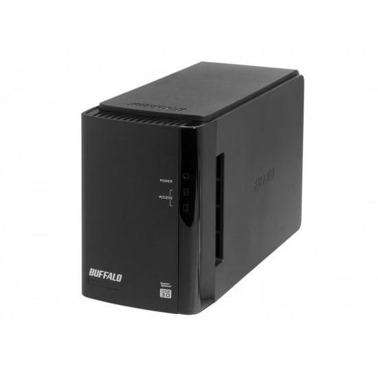 EXTERNAL HDD BUFFALO 2x2TB USB-3.0 W/PSU